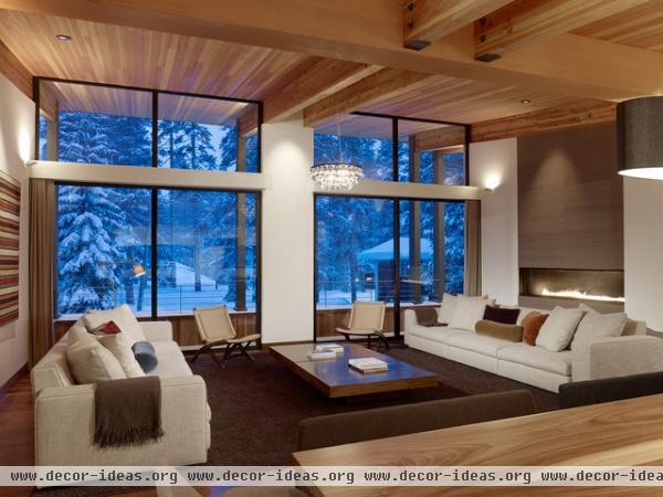 Sugar Bowl Residence - modern - living room - other metro