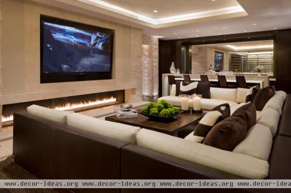 Willoughby Way - contemporary - media room - other metro