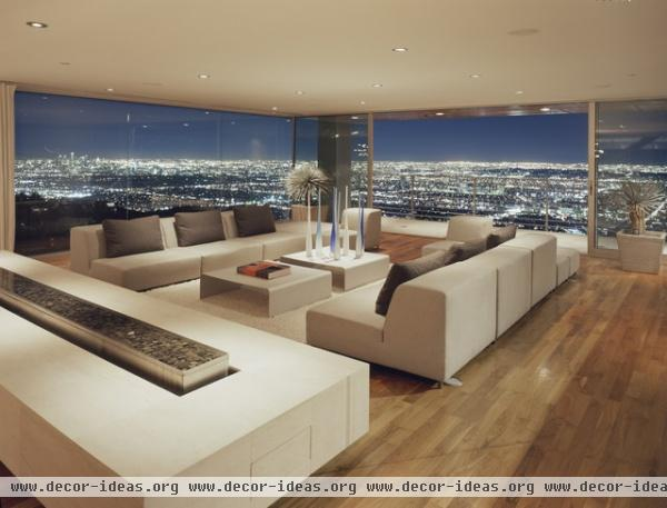Dafna Zilafro - modern - living room - los angeles