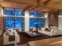 Sugar Bowl Residence - modern - living room - other metro