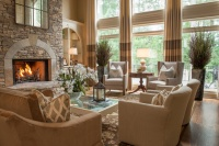 Alpharetta, GA Residence - traditional - living room - atlanta