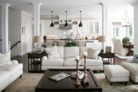 Barrie Residence - traditional - living room - toronto