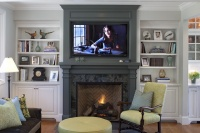 Project in Tiburon - traditional - family room -