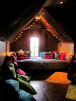 Bohemian Bunkroom - eclectic - bedroom - dallas