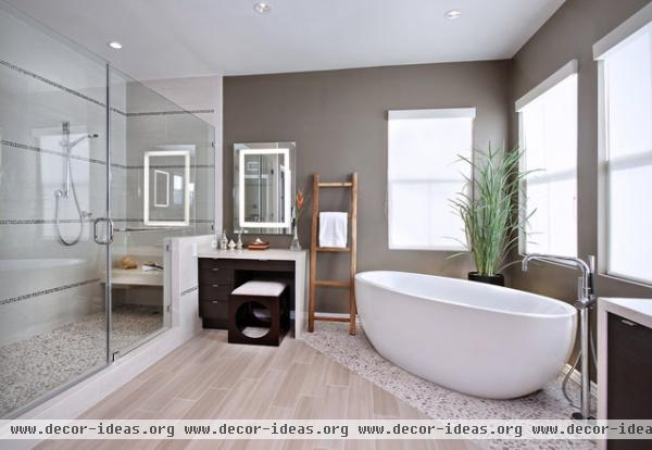 Yorba Linda Residence - modern - bathroom - orange county