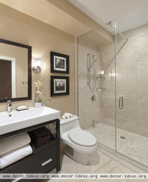 Port Credit Townhome - contemporary - bathroom - toronto
