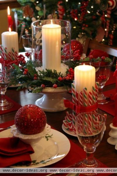 Christmas Around the House - traditional - dining room - kansas city