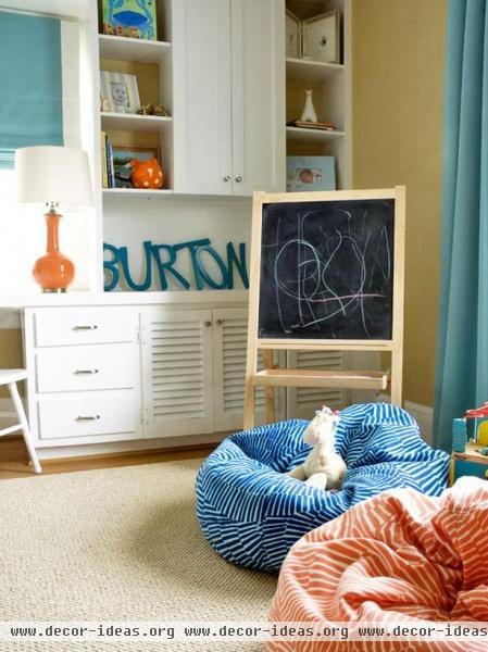 Eclectic Kids' Rooms  Liz Carroll : Designer Portfolio