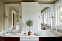 Farmhouse Reinterpreted - contemporary - bathroom - burlington