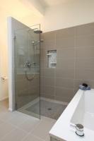 Mid Century Modern Master Bathroom - contemporary - bathroom - seattle