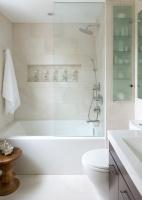 Small Space Bathroom - contemporary - bathroom - toronto