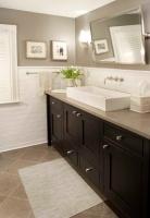 Harding Township Farmhouse - traditional - bathroom - new york