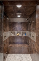 Transitional Master Bath - contemporary - bathroom - chicago