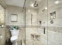 Elegant Master - traditional - bathroom -
