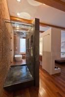 Loft in Noho - modern - bathroom - new york