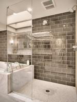 Modern Master bathroom - contemporary - bathroom - seattle