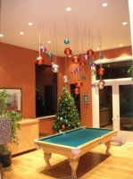 Combo Dining Room and Billiard Room - contemporary - dining room - san francisco