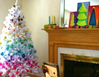 Chromatic Christmas - eclectic - family room - chicago