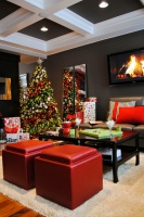 Homes for the Holidays 2012- Edmonton - contemporary - living room - edmonton