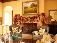 Christmas Interior - traditional - family room - houston