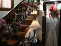 Seattle Tudor Christmas by Timothy De Clue Design L.L.C. - traditional - staircase - seattle