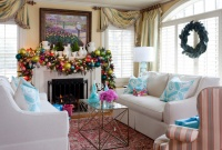 Holiday - traditional - living room - little rock