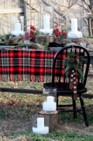 Winter Tablescape - traditional - dining room - kansas city