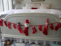 A Swedish Christmas http://threepixielane.blogspot.com/2010/12/swedish-christmas - contemporary - bedroom - atlanta