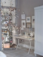 Twinkling branch for the Holiday season - eclectic - dining room - other metro
