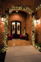 Traditional Front Porch Christmas - traditional - porch - austin