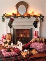 Cozy, Fireside Spot for Kids