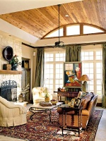 Walker's Bluff Idea House: Family Room