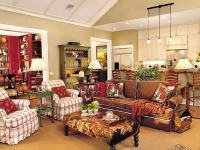 Live Oak Idea House: Family Room