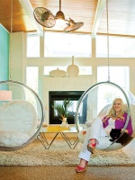 Fun-loving Living Room