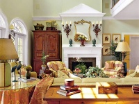 Abberly Lane Idea House: Family Room