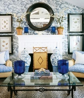 At Home with a Furnishings Fashionista