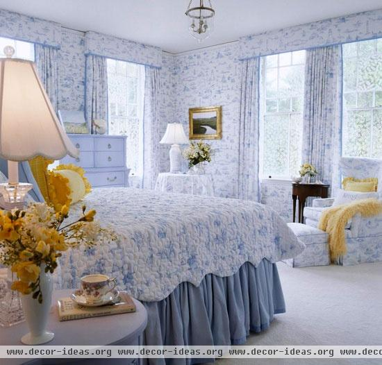 Bedroom Decorating Ideas Totally Toile: Bedroom Decorating Ideas: Totally Toile(4)