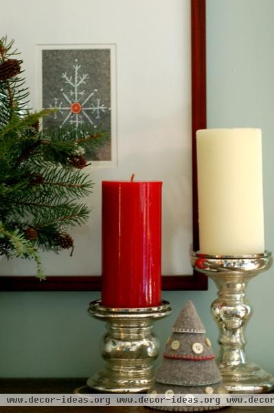 Christmas Decorations - eclectic - living room - huntington