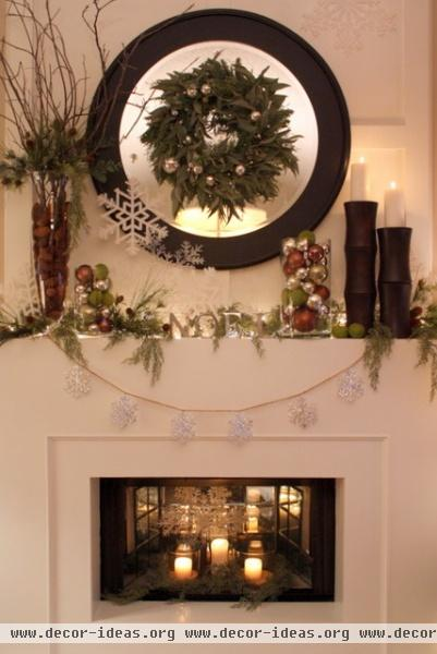 Christmas Mantle 2010 -  -  - other metro