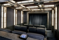 Home Theaters - traditional - media room - los angeles