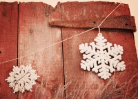 2010 Christmas Decor - eclectic - family room - philadelphia