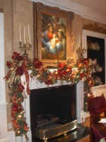 Pate Dining room, Christmas - traditional - dining room - dallas
