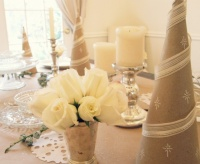 Holiday Decor - traditional - dining room - portland