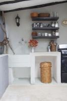 Bohemian Rustic Kitchen