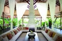 Asian Contemporary Tropical Living Room