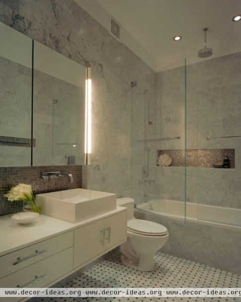 Ira Frazin Architect - modern - bathroom - new york