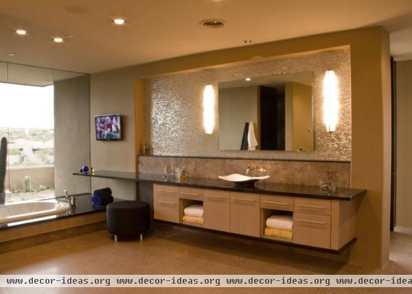 Sefcovic Residence - modern - bathroom - phoenix