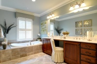 Classic Traditional Town Home St Davids Sq - traditional - bathroom - atlanta