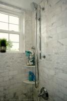 Cape Cod Chic Bathroom - traditional - bathroom - other metro