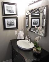 Powder Room Transformation - eclectic - bathroom - ottawa